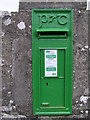 G6738 : Postbox, Ballincar by Kenneth  Allen