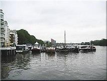 TQ2575 : River Thames at Wandsworth (2) by Nigel Cox