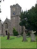 ST3390 : St Cadoc's Church, Caerleon by Eirian Evans