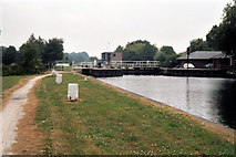 SE3629 : Woodlesford Lock No 4, Aire and Calder Navigation by Dr Neil Clifton