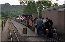NY1700 : Dalegarth station, Ravenglass and Eskdale Railway by Dr Neil Clifton
