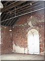 TG1027 : Disused Primitive Methodist Chapel - bare interior by Evelyn Simak