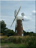TM1678 : Billingford Windmill by Keith Evans