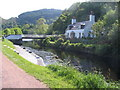 NR7993 : Crinan Bridge and cottage by E Gammie