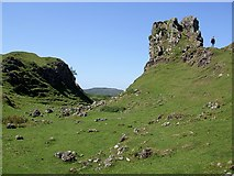 NG4162 : Castle Ewen & Fairy Glen by Rob Farrow