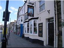 NZ0516 : Turks Head pub, Market Place, Barnard Castle by Nick Mutton