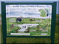 NZ5328 : Seaton Common Nature Reserve sign by Nick Mutton