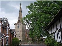 SJ8417 : The church at Church Eaton by Row17