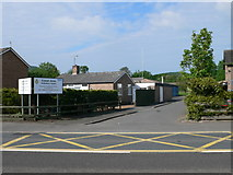 SO4382 : Craven Arms Ambulance Station by Eirian Evans