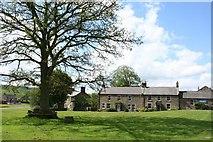 NY9393 : The Village Green, Elsdon by Duncan Grey