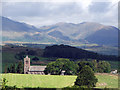 SD2886 : St Lukes Church at Lowick, Cumbria by Al Wilson