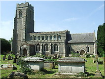 TL8866 : Holy Innocents Great Barton by Keith Evans