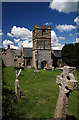 ST5906 : Melbury Bubb Church and Manor House by Mike Searle