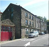 SE0023 : Former Co-op shop, Cragg Road B6138, Cragg Vale, Mytholmroyd by Humphrey Bolton
