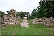 NO3524 : Balmerino Abbey by stephen samson