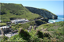 SX0486 : Tintagel: The Port William by Martin Bodman
