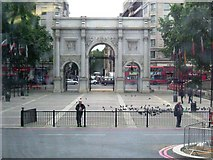 TQ2780 : Marble Arch, W1 by Phillip Perry