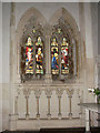 TG1222 : The church of St Michael & All Angels - N chancel window by Evelyn Simak