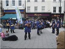 SO5140 : Morris dancers at High Town by Trevor Rickard
