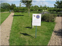 SK1814 : Area dedicated to the Women's Royal Naval Service by Alan Heardman