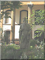 TQ3279 : Statue of King Alfred, Trinity Church Square by Stephen Craven