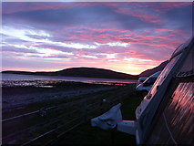 NH1098 : Sunset  at Ardmair point by anthony buckley