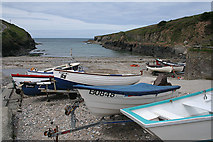SX0080 : St Endellion: Port Gaverne harbour by Martin Bodman