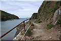 SX0080 : St Endellion: path to Main Head at Port Gaverne by Martin Bodman