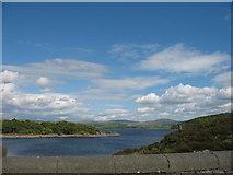 SH6737 : Trawsfynydd Lake by Peter Humphreys