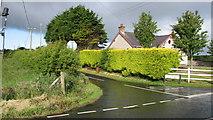 D0941 : Crossroads at Carnduff by Willie Duffin