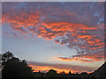 TQ2995 : Sunset, Oakwood, London N14 by Christine Matthews