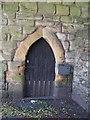 NY9864 : The Vicar's Pele - east doorway by Mike Quinn