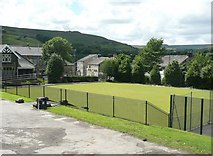 SE0511 : The bowling green, in the park, Marsden by Humphrey Bolton