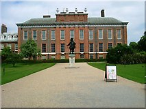TQ2579 : Kensington Palace,W8 by Phillip Perry