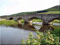 SE0361 : Burnsall Bridge, Wharfedale, Yorkshire by Dr Neil Clifton