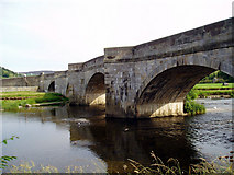 SE0361 : Burnsall Bridge, Wharfedale, Yorkshire by Dr Neil Clifton