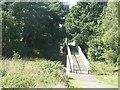 SZ0895 : Redhill: footbridge over Redhill Avenue by Chris Downer