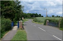 SK6514 : Station Road in Rearsby, Leicestershire by Mat Fascione