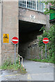 SK5164 : Tunnel through the mill by Alan Murray-Rust