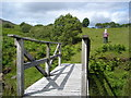 G8787 : Footbridge on the Bluestack Way by Kay Atherton