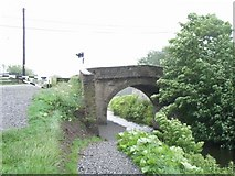 O0338 : Packenham Bridge on the Royal Canal Near Clonsilla, Co. Dublin by JP