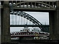 NZ2463 : Three Tyne Bridges by Duncan David McColl