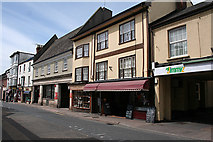 ST0207 : Cullompton: a Fore Street view by Martin Bodman