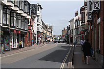 ST0207 : Cullompton:  Fore Street looking north by Martin Bodman