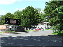 NS4967 : Normandy Hotel by Thomas Nugent