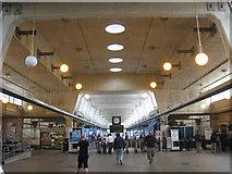 TQ0584 : Uxbridge Underground Station main concourse by Rod Allday