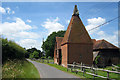 TQ8041 : Oast House at Cherry Tree Farm, Mill Lane, Frittenden, Kent by Oast House Archive