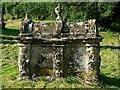 SP2811 : Tomb, St Nicholas' church, Asthall by Brian Robert Marshall