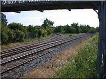 TL4197 : Disused avoiding curve by Keith Edkins