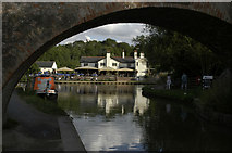 SP6989 : Grand Union Canal at Foxton Locks by Beryl Allcoat